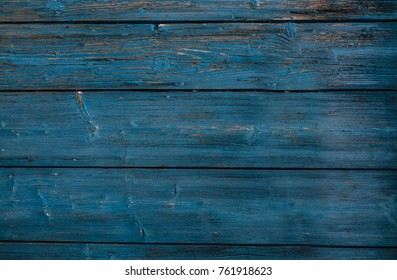 Turquoise wood texture retro vintage background.