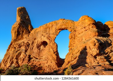 Turret Arch at Arches National Park, Utah