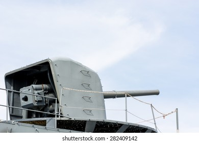 turret cannon in the ship