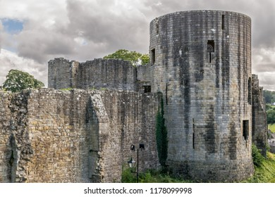 turret and castle wall
