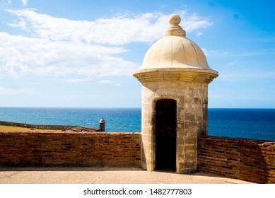 Turret at el Morro San Juan Puerto Rico