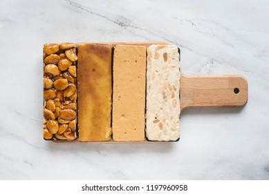 Turron typical dessert spain