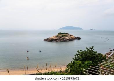 Turtle Island at Matsu, Taiwan.