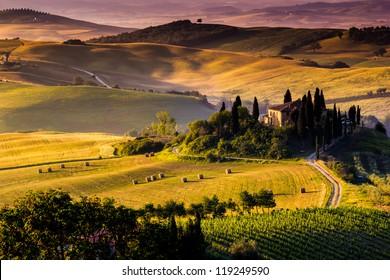 Beautiful Italian Landscape Stock Photos Images Photography