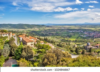Tuscan landscapes. Cortona. Italy