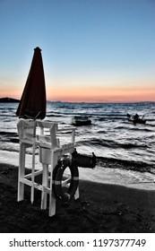 Tuscan Seascapes, paradise is next, Tuscany, Italy