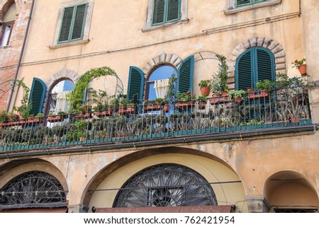 tuscan traditional architectural design stock photo (edit nowtuscan traditional architectural design