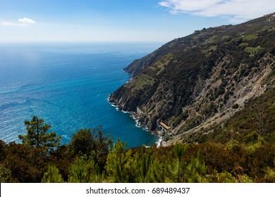 Tuscany beautiful coast view