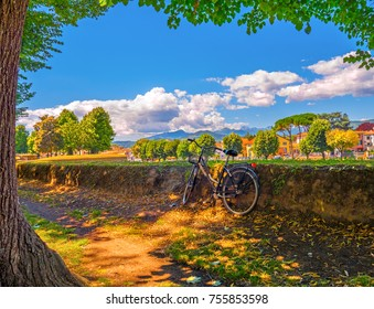 Tuscany biking tour explore Lucca Italy by bike