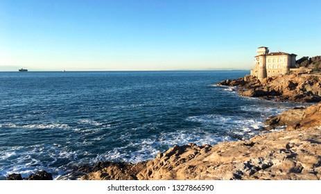 Tuscany coastline, Livorno, Italy
