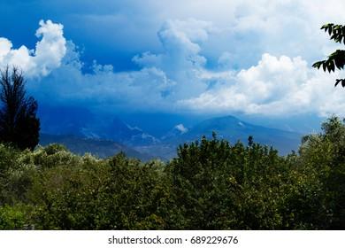 Tuscany Mountain Italy Montemarcello