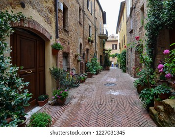 Tuscany, old stone town