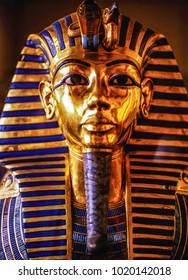 Tutankhamun's death mask, Egypt