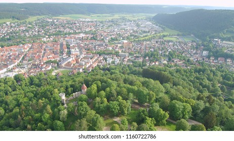 Tuttlingen town in south germany in summer time