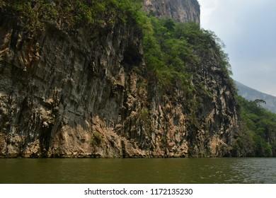 Tuxtla Gutierrez;  United Mexican States - may 14 2018 : the El Sumidero canyon