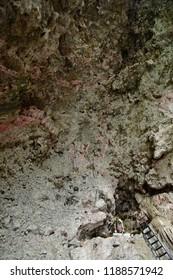 Tuxtla Gutierrez;  United Mexican States - may 14 2018 : Virgin in a cave in the El Sumidero canyon
