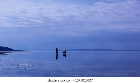 Tuz Golu- Salt Lake in Turkey, is a saline lake occupying a huge area in the arid central plateau of Turkey, about 65 miles (105 km) northeast of Konya, neighboring also Nigde and Ankara provinces