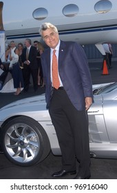 TV chat show host JAY LENO at charity event at Santa Monica Airport for The Robb Report's Best of the Best: Los Angeles. August 28, 2004