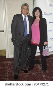 TV chat show host JAY LENO & wife at the 3rd Annual Adopt-A-Minefield Benefit Gala at the Beverly Hills Hilton. Sept 23, 2003  Paul Smith / Featureflash