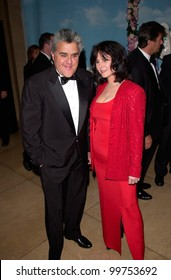 TV chat show host JAY LENO & wife at the Carousel of Hope Ball 2000 at the Beverly Hilton Hotel. 28OCT2000.   Paul Smith / Featureflash