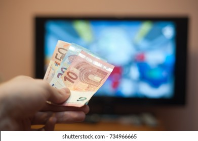 Tv and euro money