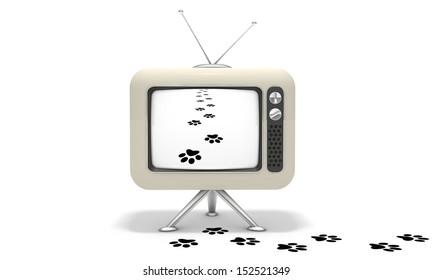 TV footprints