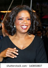 TV Host Oprah Winfrey attends the Sesame Workshop's Second Annual Benefit Gala at Cipriani's 42nd St June 2, 2004 in New York City