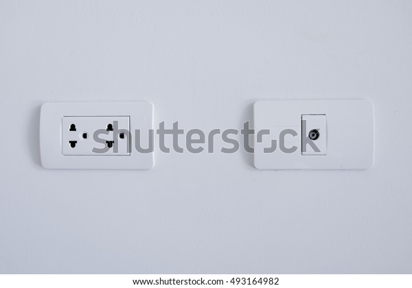 TV outlet and Electronic plug