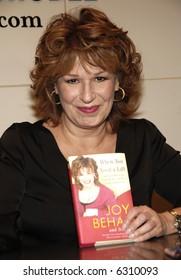 TV Personality Joy Behar
