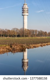 TV and radio tower in Smilde, The Netherlands