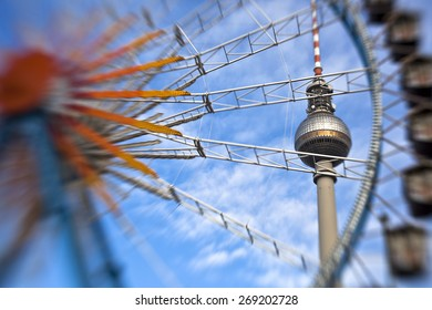 TV Tower in Alexanderplatz, Berlin