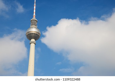 TV tower in Berlin, Germany.