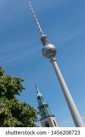 TV tower in central Berlin, Germany