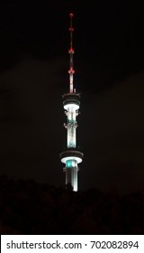 TV tower in the night