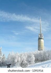 The TV tower Tryvannstårnet in Oslo