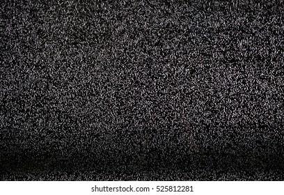 TV white noise background.