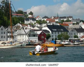 Tvedestrand in Norway