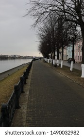 Tver quay in the spring