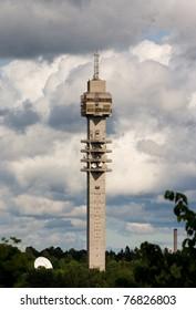 The Tv-tower Kaknastornet in Stockholm Sweden