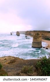 Twelve Apostles in Australia along the Great Ocean Road
