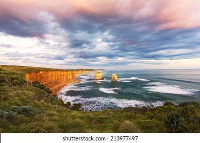 The Twelve Apostles Australia, Victoria, Port Campbell, Elevated view