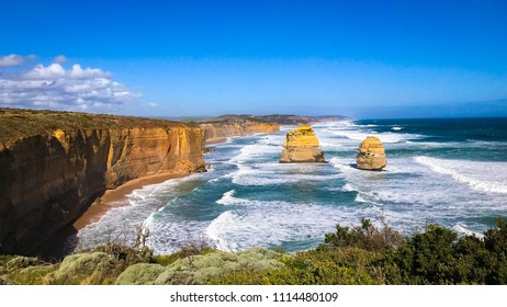 Twelve Apostles Gibson Trail, Great Ocean Road, Port Campbell, Australia