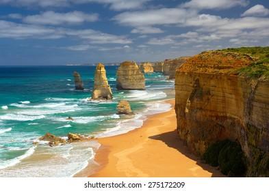 Twelve Apostles. Great Ocean Road. Australia.