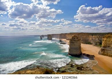 Twelve Apostles in Melbourne, Australia
