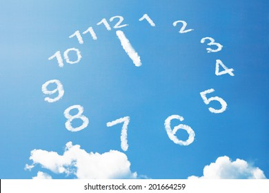 Twelve O'Clock in cloud style