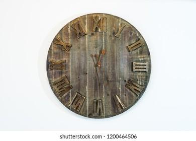 Twelve twenty seven Vintage wall clock.