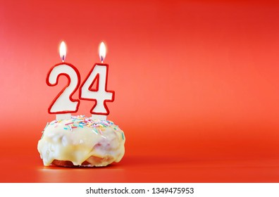 Terrific 24 Birthday Cake Images Stock Photos Vectors Shutterstock Personalised Birthday Cards Veneteletsinfo