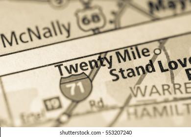 Twenty Mile. Ohio. USA