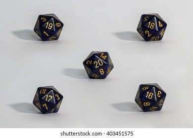 Twenty sided dice for various board games ( 16 to 20 )