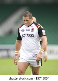 TWICKENHAM UK AUGUST 03,David Halley  Playing in the Engage Super League Rugby league match Between Harlequins RL and Bradford Bulls at The Stoop, Twickenham London 03/08/2008